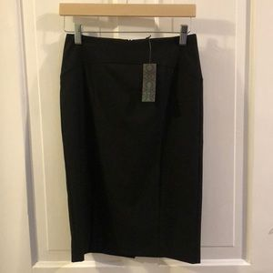 NWT Black A-line Skirt United Colors of Benetton
